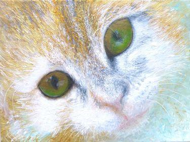 "Saatchi Art Artist Maria Westra; Painting, ""SOPHIETJE 2"" #art"