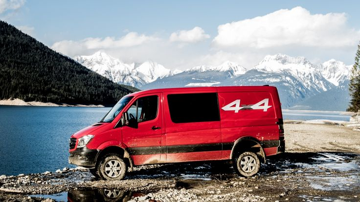 2015 Sprinter 4 x 4.  I want one.