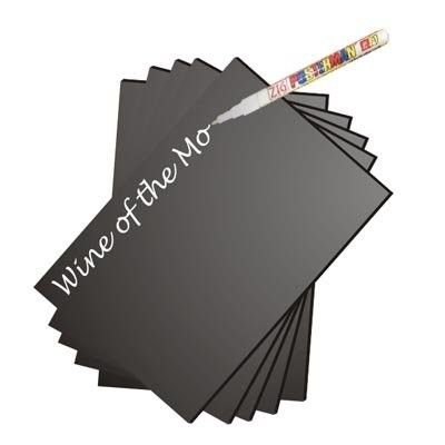 Small Chalkboard Black Boards, Pack of 10
