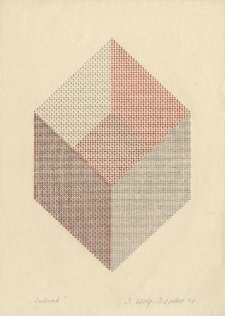Ruth Wolf-Rehfeldt: Kubisch, 1978.