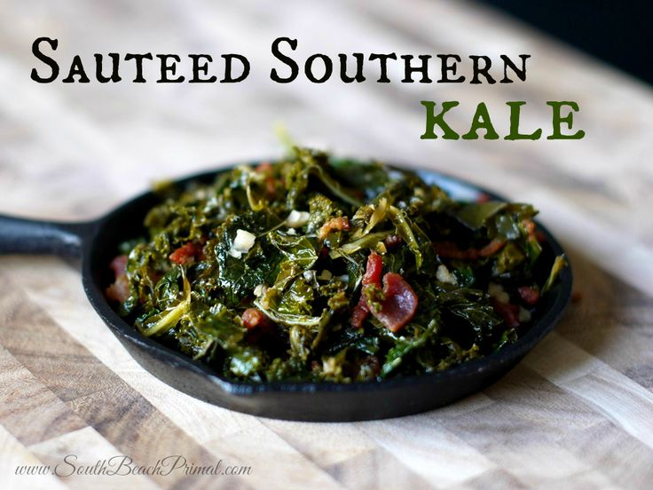 Sauteed Southern Kale  #SouthBeachPrimal