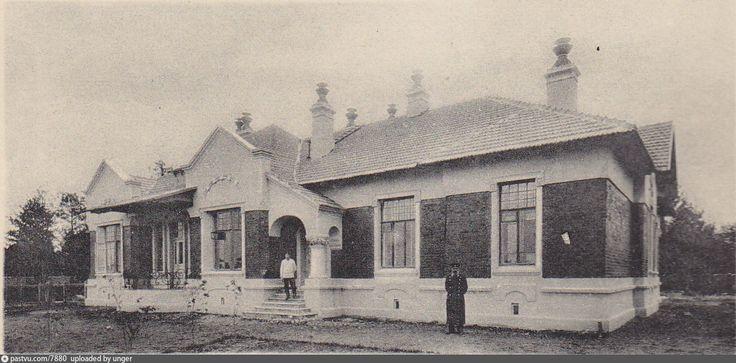 Жилой дом начальника станции и его помошника на станции Лихоборы