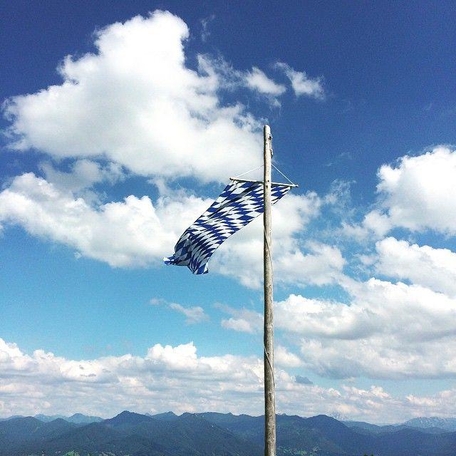 #Bayern #Flagge #blau #weiss #Bad #Tölz