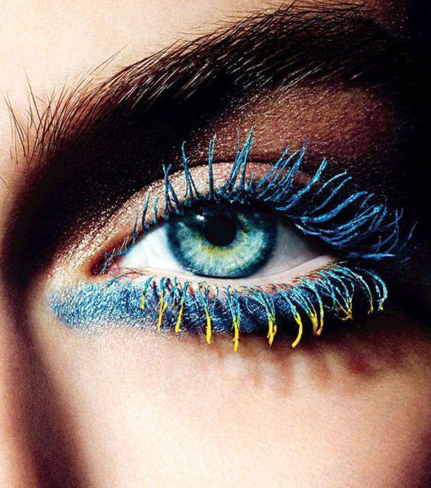 Célèbre Les 25 meilleures idées de la catégorie Mascara de couleur sur  UM22