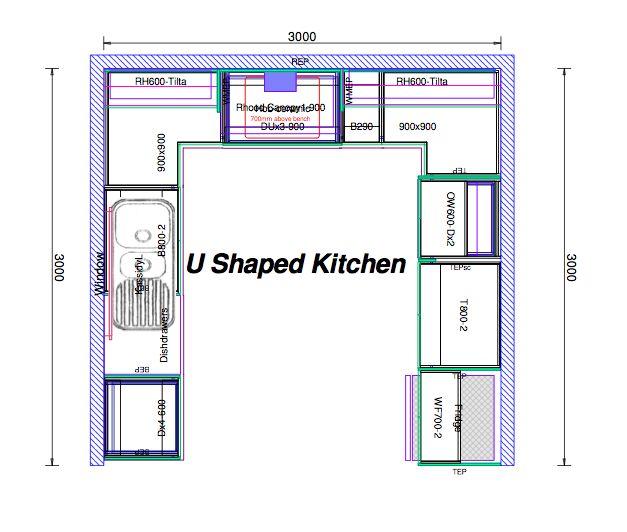 Small Kitchen Design 10x10