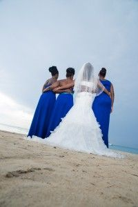 Www Kaylabellevents Blog Kayla Belle Events Destination Wedding Jamaica Cobalt Blue Montego Bay Riu Palac