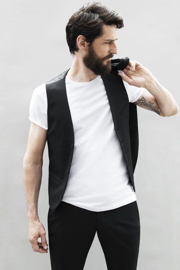 open vest white t-shirt August - Man - Lookbook - ZARA United States - Look 15