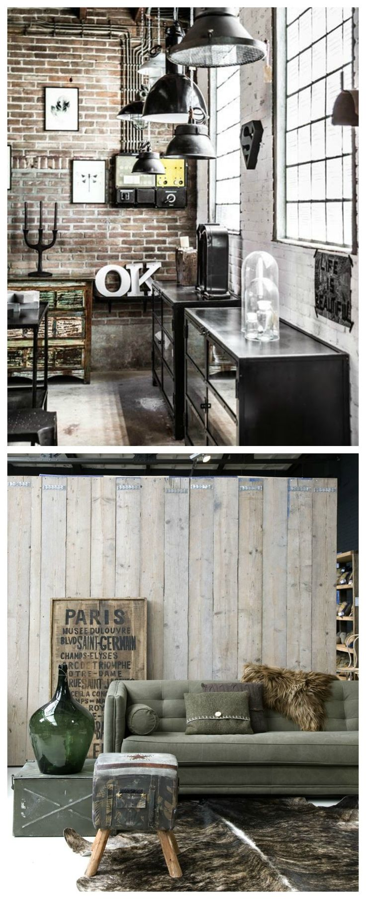 Best 20 industrial loft apartment ideas on pinterest - Decoracion industrial vintage ...