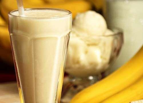 Milk Shake Batida de banana