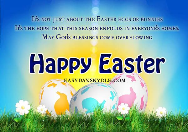 Easter Greetings, Messages and Religious Easter Wishes!