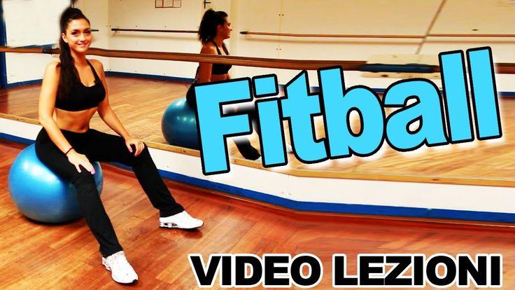 Fitball: Esercizi per addominali, schiena, glutei, dorsali e gambe - All...