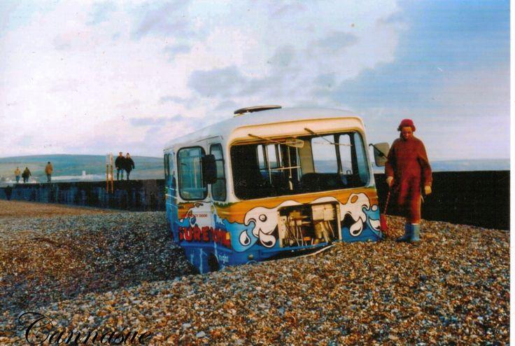 shilgle preston beach road after storm