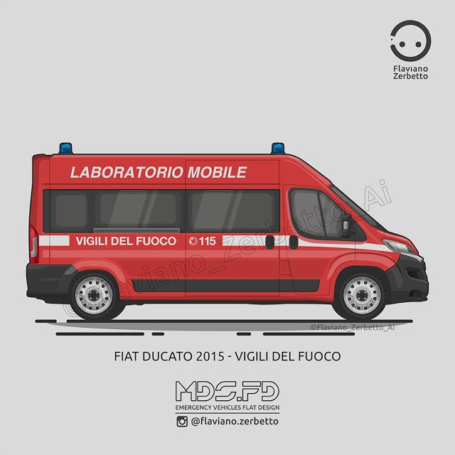 KombiT1: Fiat Ducato 2015 -Vigili del Fuoco