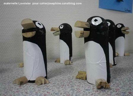 pinguins knutselen met kleuters