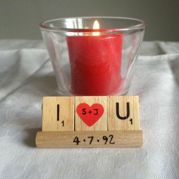 I love You rack Romantic Couple gift Valentine's by MooseintheMint