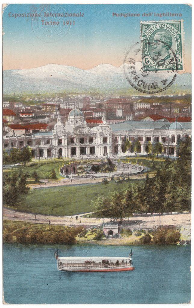 esposizione internazionale di torino , 1911 Padiglione dell'Inghilterra