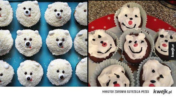 Ciasta i torty, które miały być piękne, no ale...