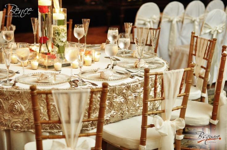 Diseño de manteleria boda