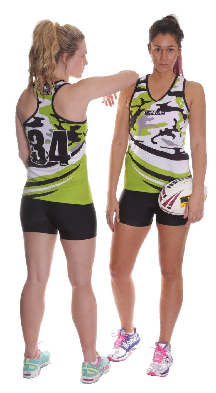 Womens Touch Football Uniforms | #TouchFootball #TouchUniforms