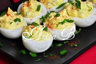 Scarsdale Diet Recipes: Devilled Eggs with Salad