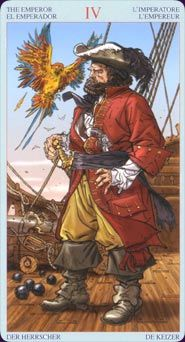pirates | Card Images from the Tarot of Pirates