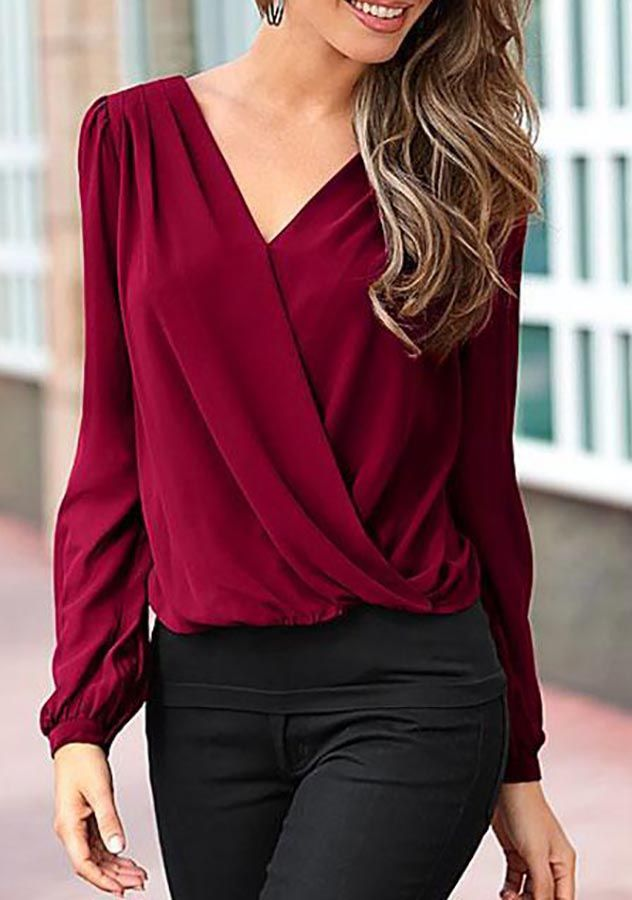 Best 25  Blouses for women ideas on Pinterest | Blue women's tops ...