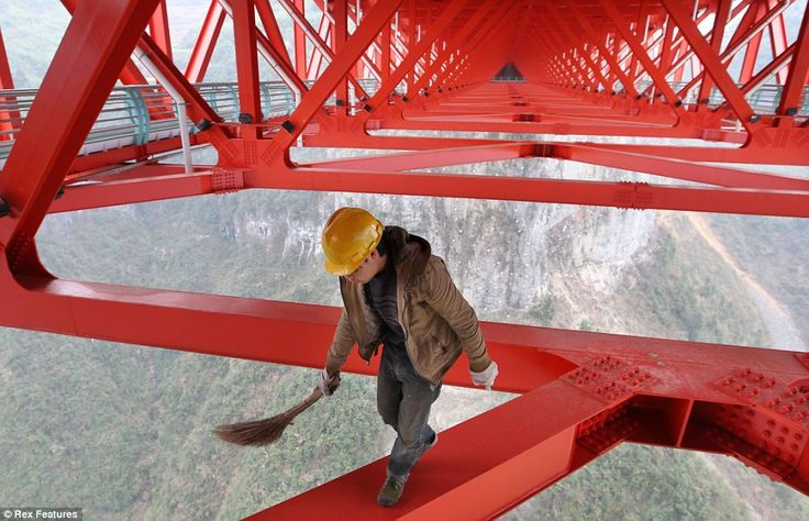 World's highest bridge meets the world's most lax health and safety rules