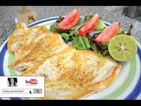 PECHUGAS DE POLLO AL AJO Y LIMÓN | RECETAS LIGHT | Vicky Receta Facil - YouTube