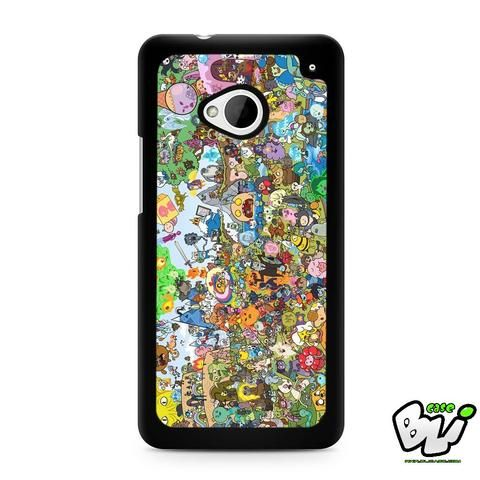Adventure Time All Character HTC G21,HTC ONE X,HTC ONE S,HTC M7,M8,M8 Mini,M9,M9 Plus,HTC Desire Case