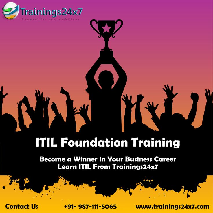 The 21 Best Itil Foundation Training Images On Pinterest