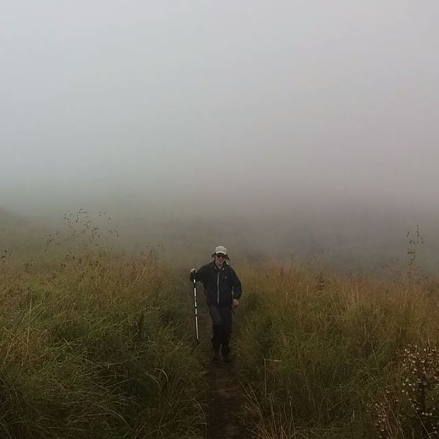 The large smile is coming back on the last day of the trek even the beautiful mist surround make the different experience on Mt.Rinjani.  Join #mujitrekkertrip and the the special adventure.  Contact:  mujitrekker@gmail.com +62 8191 7774 802 www.rinjanitrek-lombok.com  #mtrinjani #trekking #hiking #camping #lombokisland #Indonesia #adventure #bestvacations #mountaineering #wanders #wanderlust #traveling #travellust #backpackers #backpacking #mountaingirls #natgeo #nature #amazing