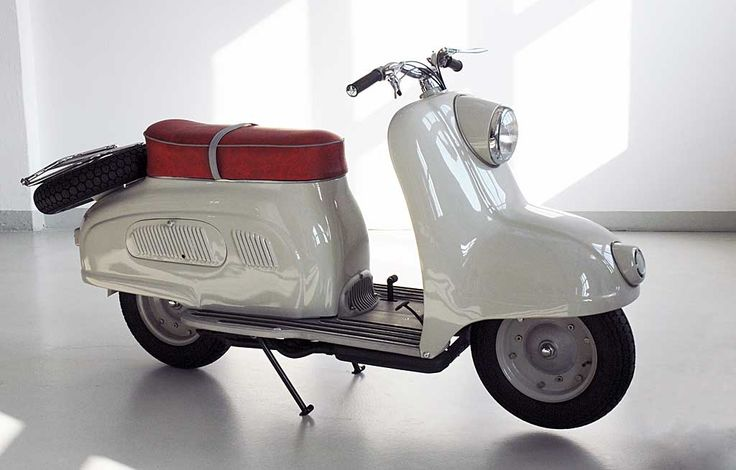 Early 1950s BMW R10 Prototype Scooter.  The scooter that never was.  #scooter