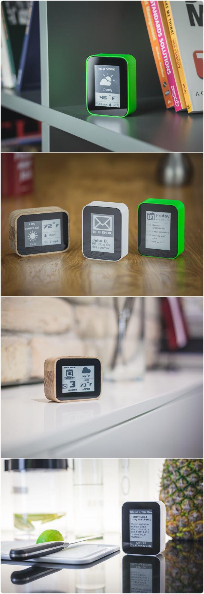 DISPLIO - WiFi display that tracks what's important to you by Draugiem Group — Kickstarter