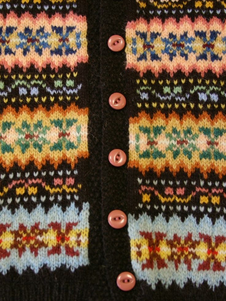 The colours!!Just Call Me Ruby: Fair Isle Weekenders!