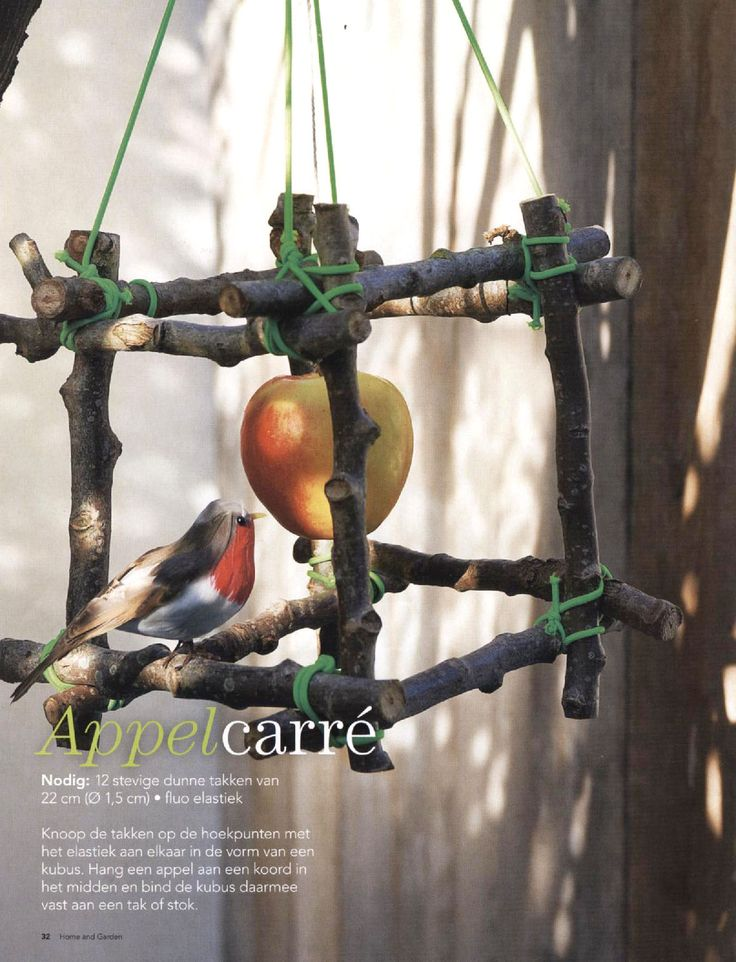 Appel Carré. Workshop natuur:  www.desteenakker.nl