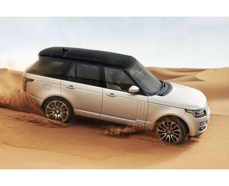 Luxury Aluminum SUVs - The 2013 Range Rover is Lightweight and Classy
