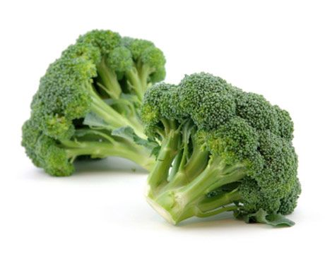 Eating raw broccoli, and the chewing process involved, helps to rupture the special compound that is located in the plant's cell walls, an enzyme called myrosinase, that revs up your liver's ability to detoxify carcinogens. Cooking broccoli inactivates the enzyme. People eating steamed broccoli seem to get only about a third as much of these special cancer-fighting compounds.    Enjoy raw broccoli, one of the best sources of Vitamin K.