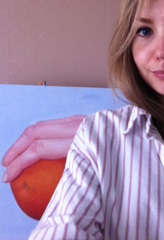 Elin Erikson oil painting