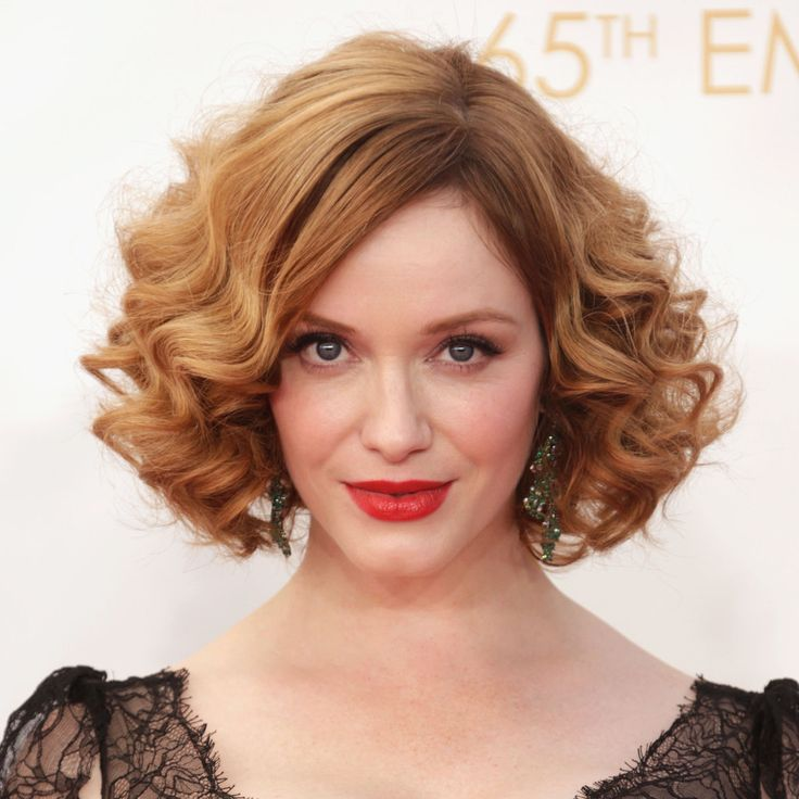 Christina Hendricks Hair and Makeup at Emmys 2013 | Pictures | POPSUGAR Beauty