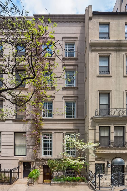 Townhouse in manhattan for sale new upper west side for Manhattan townhouse for sale