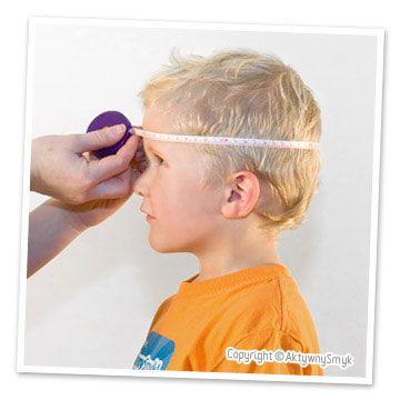 Czapki Ribcap dostępne są w różnych rozmiarach. Zmierz główkę dziecka aby wiedzieć jaki rozmiar wybrać.