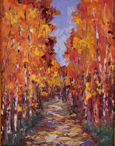 """Sensational Aspens"" by Deborah Gold"