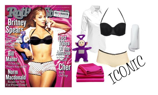 """""""Britney Spears 1999 Rolling Stone"""" by bethany-ransom ❤ liked on Polyvore featuring Britney Spears and LE3NO"""