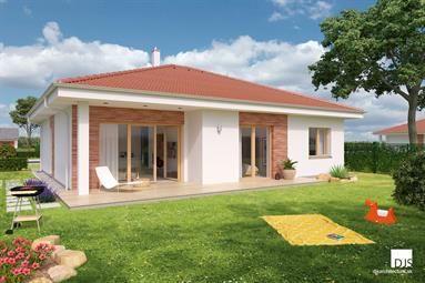 Bungalov O130 - 5 izieb alebo 4 izby + garáž / Bungalow O130 - 4 bedrooms or 3 bedrooms + garage