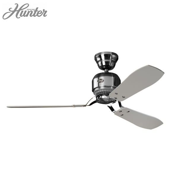 """Lounge / dining - Industrie II Ceiling Fan - Brushed Chrome 52"""""""