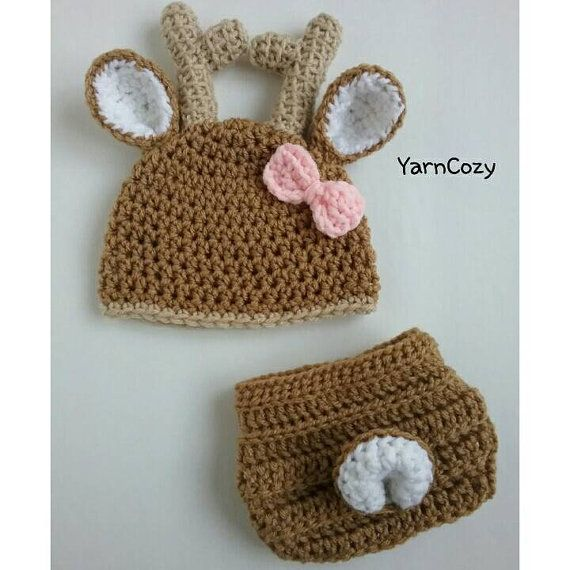 Check out this item in my Etsy shop https://www.etsy.com/listing/228637173/baby-deer-outfit-baby-deer-hat-baby-deer