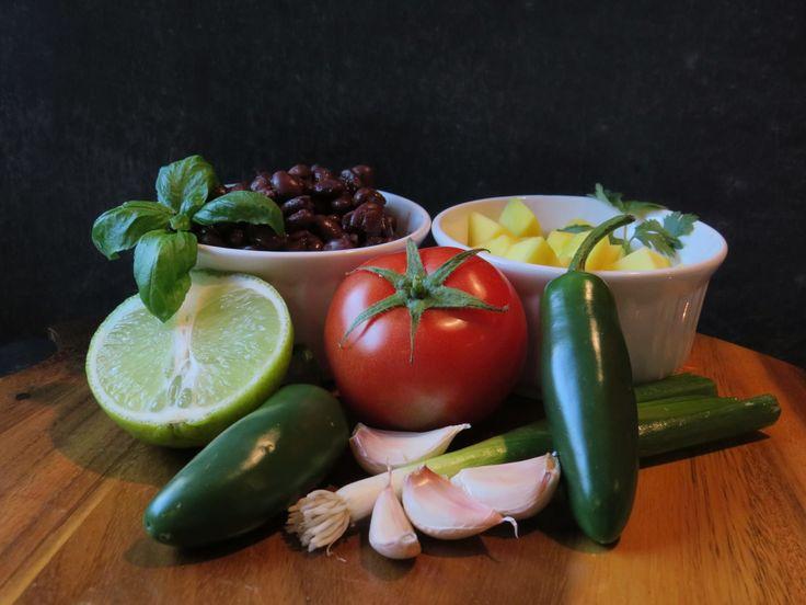 Fresh ingredients, fresh salsa, chunky salsa, healthy options, healthy family, Sunset salsa