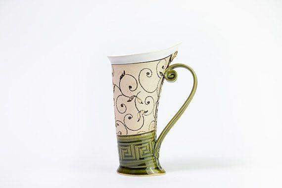 Hey, I found this really awesome Etsy listing at https://www.etsy.com/listing/238328382/ceramic-mug-tea-mughandbuilding-ceramics