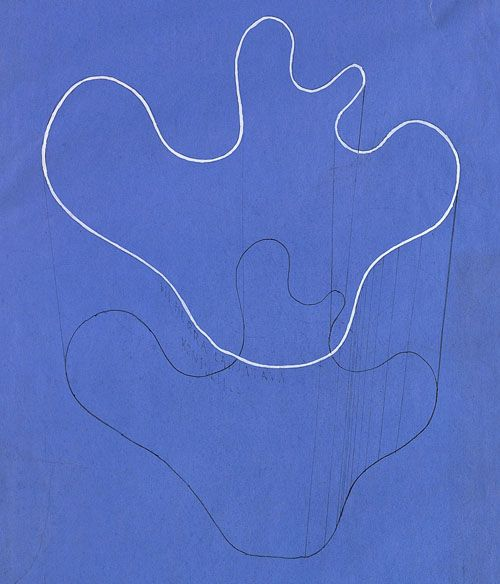Alvar Aalto... lines which become form...