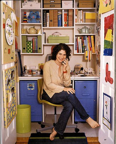 love that you don't even need a desk, just a couple of filing cabinets:)